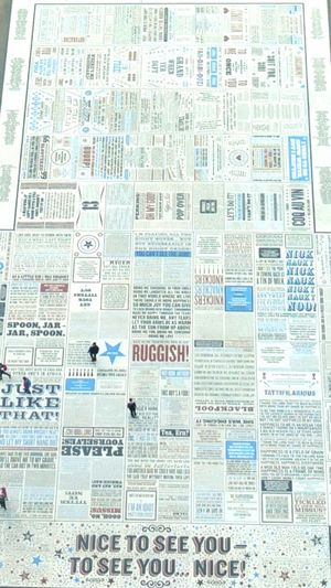 Backgrounds Full Frame Newspaper No People Keep Blackpool Tidy Blackpool Tower Quotes Blackpool Looking Down From Above Outdoors