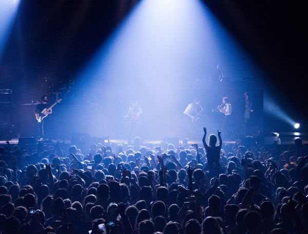 Concert Crowd Dancing Hands Lights Music Parov Stelar People Shadows Silhouette