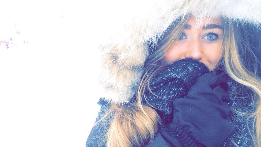Winter Cold Serre Chevalier  Snow Ski Blonde Pale