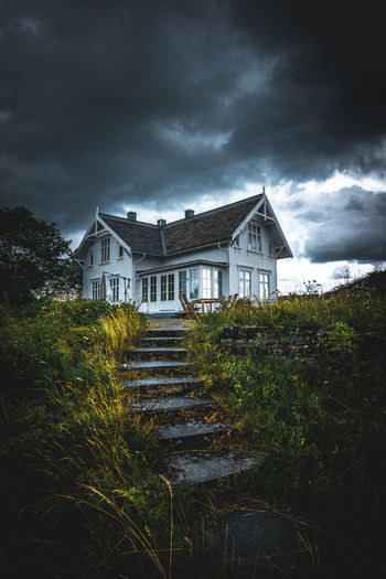 Beautiful Landscape_Collection Moody Sky Nature Nature On Your Doorstep Nature Photography Norway Norway🇳🇴 Oslo Sky And Clouds Stairs Beauty Beauty In Nature House Landscape Mood Moody Nature_collection Naturelovers No People Non-urban Scene Outdoor Outdoor Photography Outdoors Sky