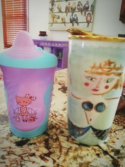 Cups Momanddaughter Thelittlethings Baby ❤ Ourcups