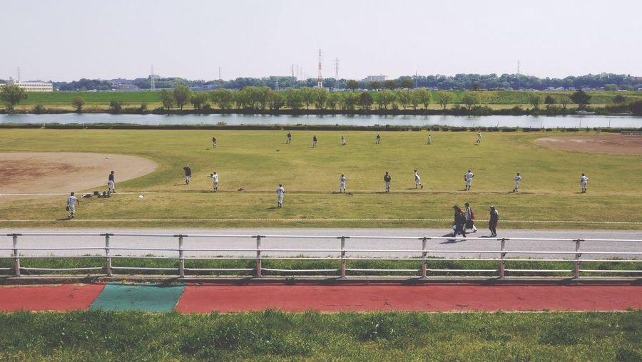 Outdoors Field