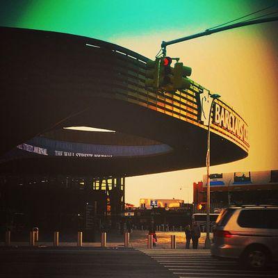 {instagram post} Barclays Center, downtown Brooklyn near sundown today #brooklyn #nyc #sports NYC Sports Brooklyn