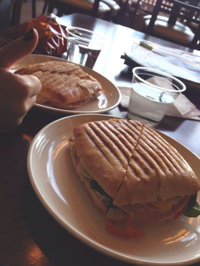 The best In My Mouf Panini Yummy Sammich Sandwich Lunch Food Porn Lunch Time! So Good Omg