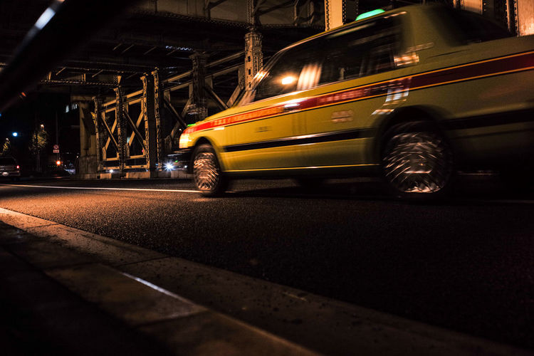 Japan Mode Of Transport Movement Night Photography Street Streetphotography Taxi The Way Forward Tokyo Diary Ultimate Japan Showcase July