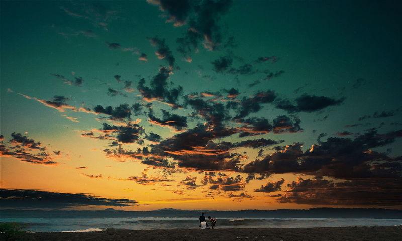 Enjoying Life Sunset Eyemphotography Backpacker