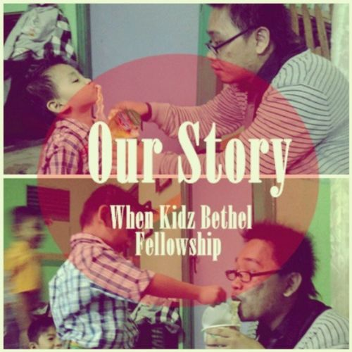 Our story last week on sunday school, hahaha what a beauty moment Brotherhood Mycutebro