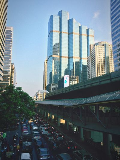 Bangkok Thailand. Traffic Jam