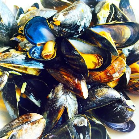 Dinner Moules Frites Frensh Food Moules Frites Mer Sea Food Patates