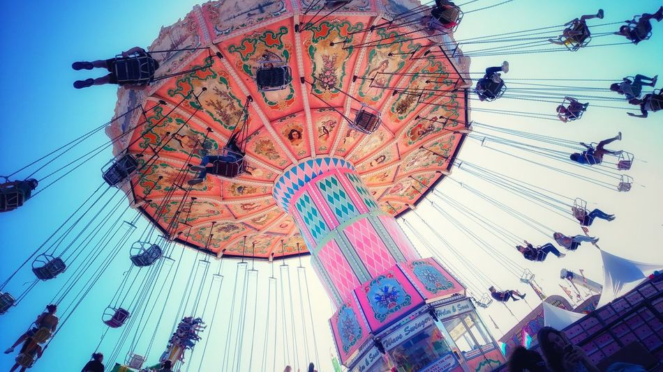 Multi Colored The Week Of Eyeem At The Fair Jj_forum Jj_architecture Swings Urban Exploration Neon Life