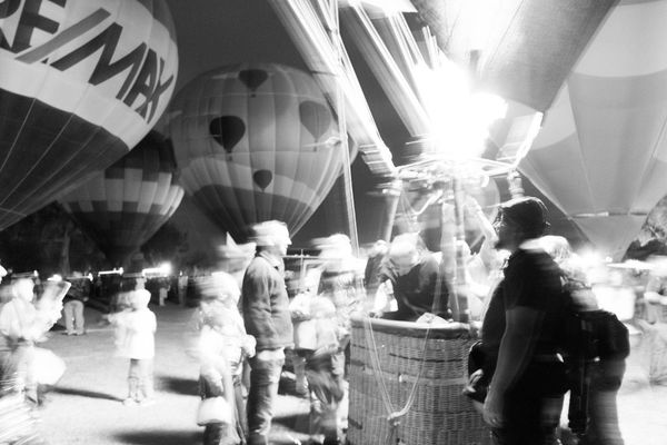 Bodies in motion. Tucson Az Liftoff Preparation  Capture The Moment Living And Learning Helping Hand Beanie Winterfest Outdoor Photography Thephotographer Upupandaway Adventures Nightphotography Eye4photography  Arizona Tubac Photography Blackandwhite Photography Myperspective Artistsmind My Husband Hotairballoon My Best Photo 2015 B&w Street Photography Fine Art Photography Go Higher