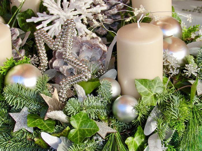 Close-up of christmas decoration