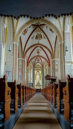 Interior Of Historic Cathedral
