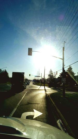 Bright full sunny day, starting fresh day 🙌🌞👍