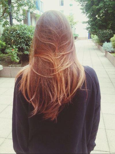 Hair Straight Hair Roux Auburn