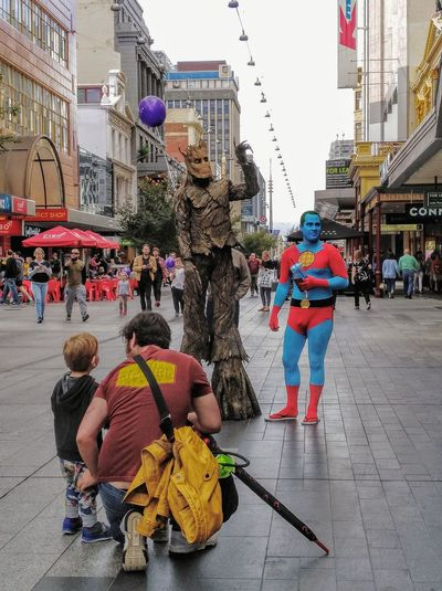 Taking Photos Tree I Am Groot GuardiansOfTheGalaxy. Guardians Of The Galaxy GUARDIANSOFTHEGALAXY Cosplay Cosplay Shoot Costume Comicon BlueFace BlueFaces Blue Face Tall - High The Mall Plant Representation Rundlemall People Street Photography Streetphoto_color Streetphotography Human Representation Check This Out Groot Comiccon Adelaide S.A. Adelaide, South Australia Rundle Mall Adelaide City Street