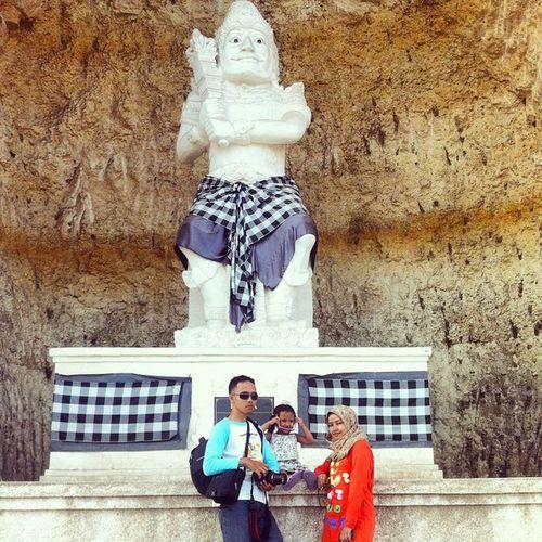 mejeng dulu di patung bima | Patung BIMA Monumen Statue bims mahabharat mahabarata pandawa denpasar bali indonesia holiday travel