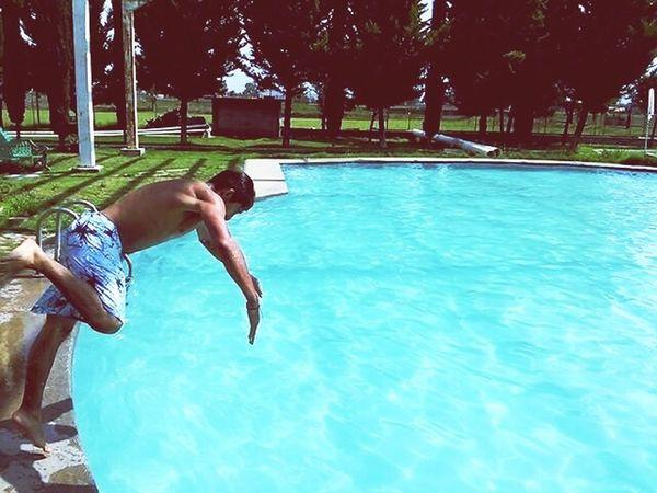 Al agua pato. Diversion Viajes  Aventuras Aventures Agua Lerickbeat Clavado Pool Alberca
