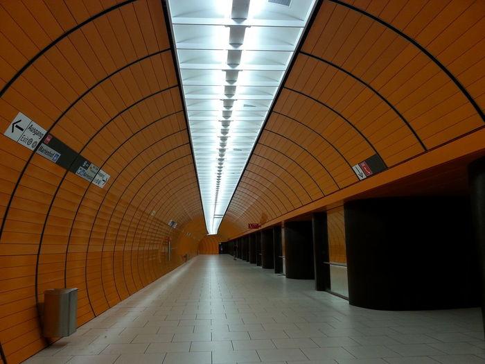 Subway station München Marienplatz, Munich Architecture Ceiling City Marienplatz Munich München,Germany No People Subway Station