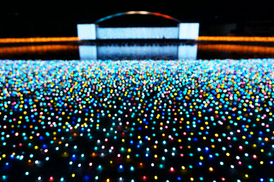 2014 Christmas Illuminated Illumination Jewellumination Yomiuriland よみうりランド クリスマス ジュエルミネーション 遊園地