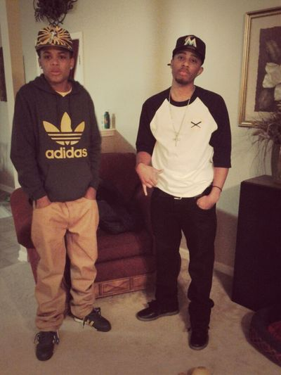 Wit the bro b4 the game