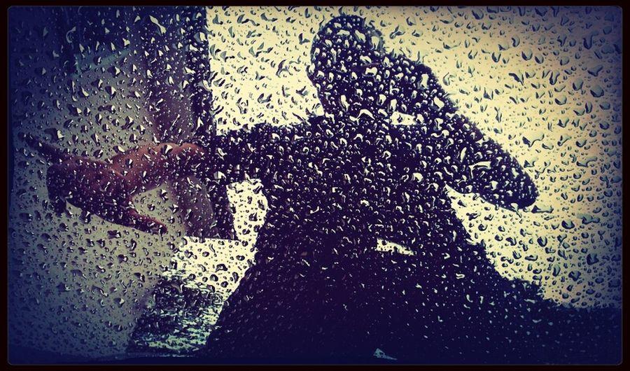 Self Portrait Rain Selfie Yo!