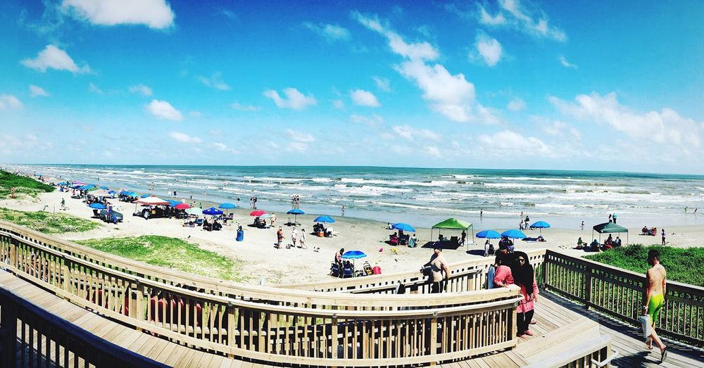 Galveston 8 mile beach 8milebeach Galveston Island  GalvestonTexas Galveston Beach  Beautiful Day