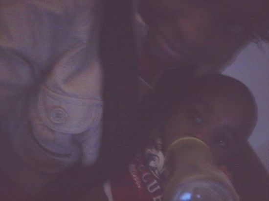 me nd deedee my baby chillin wit him !