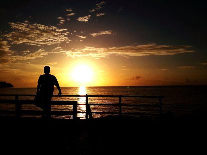 Drop the sun Sunrise Rajaampatisland