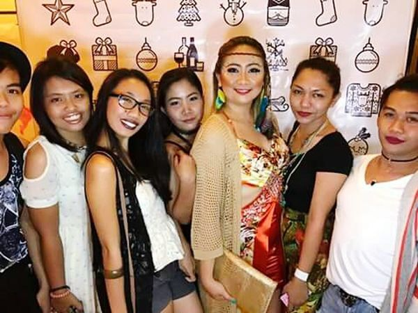 Coachella Theme for the year end party! Christmas Party Party - Social Event People Coachella Sutherland Cam Sur Friendship Looking At Camera Fun Togetherness Smiling Night Enjoyment Celebration Portrait Group Of People Indoors  Cheerful Happiness Eyeglasses  Nightlife