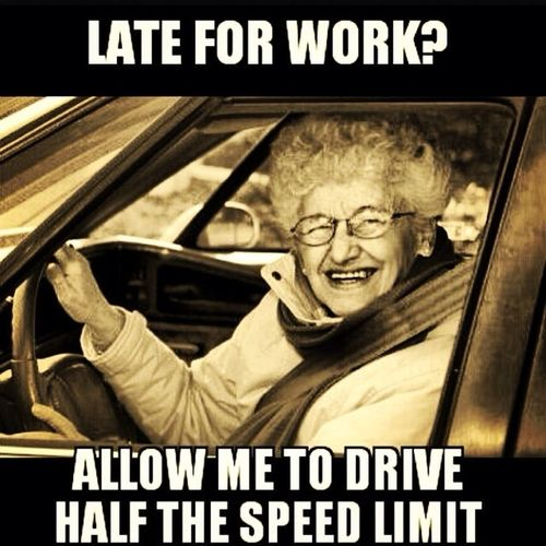 Driving Slow!!