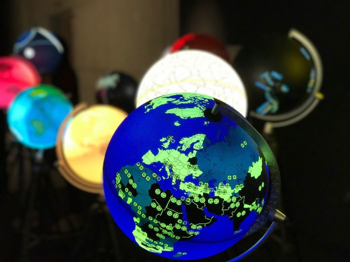 Destination Sphere Multi Colored No People Close-up Indoors  Globe Photo Photography Planet IPhoneography