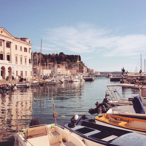 Piran harbor ⚓️⛵️ Boats Harbour Harbor Istria Streetview Streetphotography Mediterranean  IfeelsLOVEnia Slovenija Slowenien Slovenia Piran The Traveler - 2018 EyeEm Awards
