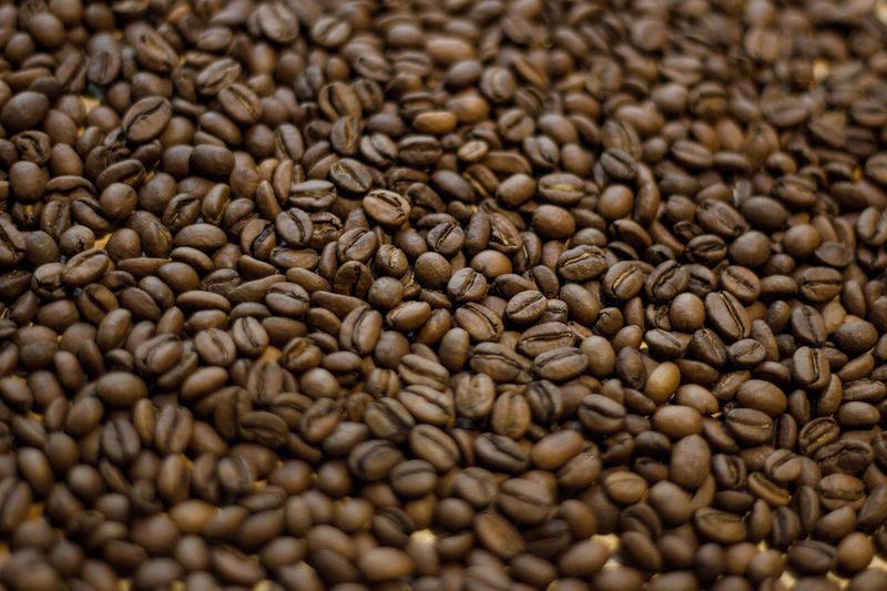 Food And Drink Food Backgrounds Freshness Large Group Of Objects Full Frame Abundance Coffee Studio Shot No People Coffee - Drink Indoors  Roasted Coffee Bean Brown Close-up Still Life Seed Selective Focus Roasted Raw Food Textured Effect