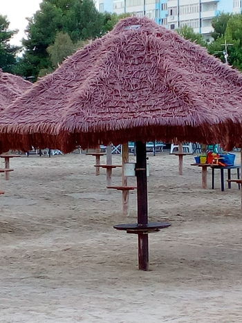 Fine Estate 2018 Water Beach Sand Thatched Roof Protection
