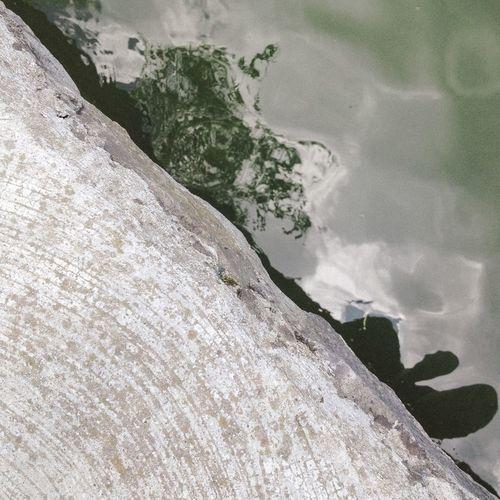 Diagonal Geometry Lake Water Waves