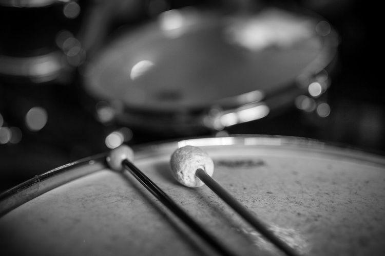 Drum Drummer Drummers Music Close-up Drum - Percussion Instrument Drum Kit Drumming Drums Drumset Drumstick Drumsticks Metal Musical Equipment Musical Instrument Musician No People Percussion Percussion Instrument Selective Focus Still Life