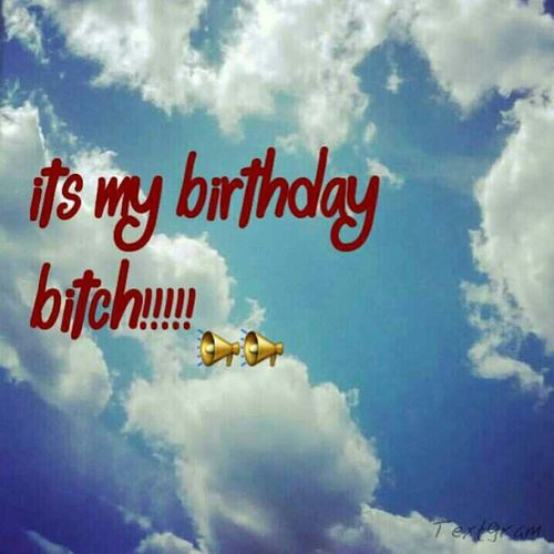 Show Me Some Love On My Bday