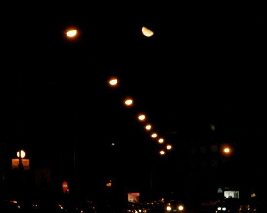 Night Moon No People Outdoors Sky