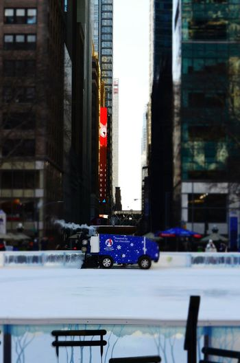 Photography In Motion Bryant Park NYC Zamboni Ice Rink New York City The Great Outdoors - 2016 EyeEm Awards