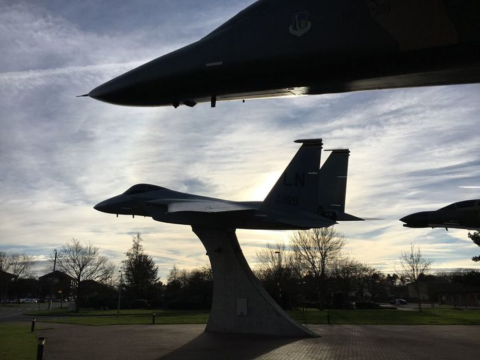 Lakenheath F-15 F-111 Static Display Suffolk, United Kingdom