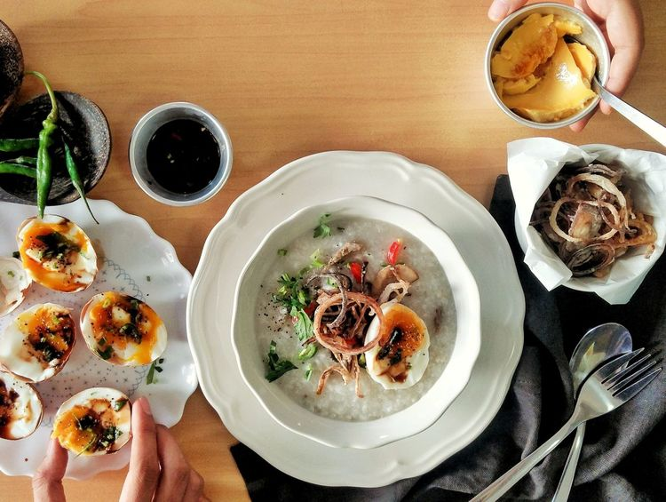 Cooked With Love Morning DeliciousFood  Indoors  Weekend Breakfast Coffee Healthy Delicious Meal Porridge Healthy Food