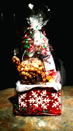 Christmas Around The World Freshness Enjoying Life Capture The Moment Eyeem Just Taken Pics. A Nice Gift Basket We Got From Our Insurance Company Holland Michigan