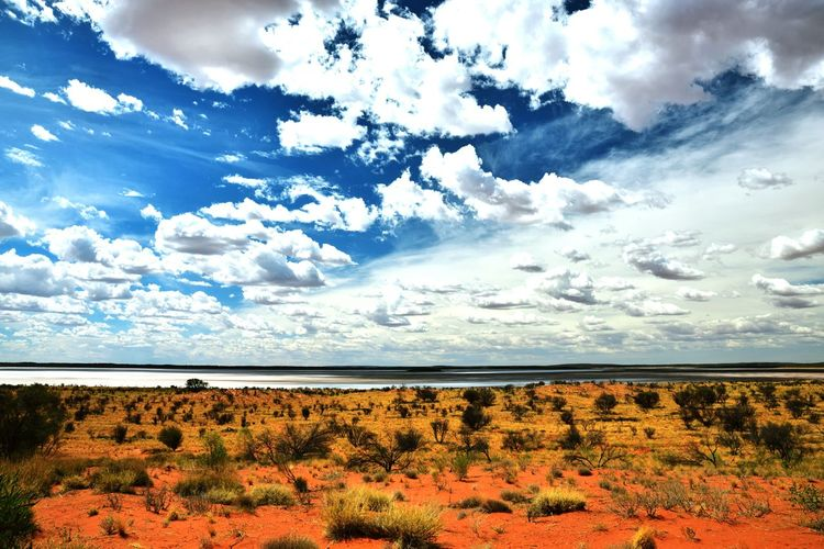 Clouds And Sky SaltLake Desert Deserto Australian Landscape Australian Outback Australian Desert