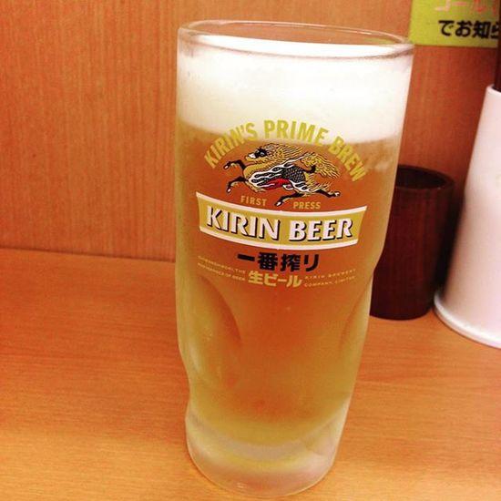 水分補給♪ Drinking Beer Kirin