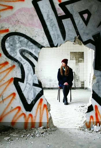 In the midst of winter I found there was, within me, an invincible summer. EyeEm Adventure Alte Fleischfabrik Abandoned Buildings EyeEm Best Shots EyeEm Gallery Portrait Shootermag Graffiti The Portraitist - 2015 EyeEm Awards Capture Berlin
