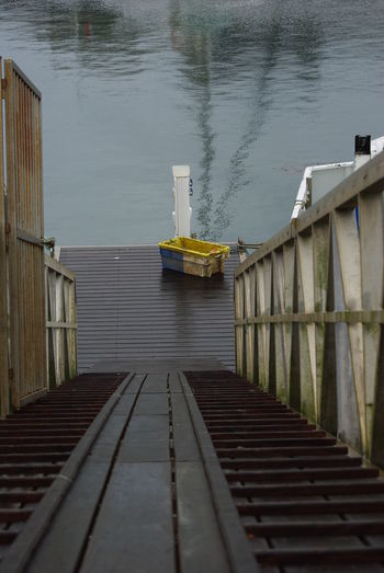 Built Structure Day Fishermanswharf High Angle View Jetty Launchway Moored Nature No People Outdoors Port Photography Water Wood Paneling