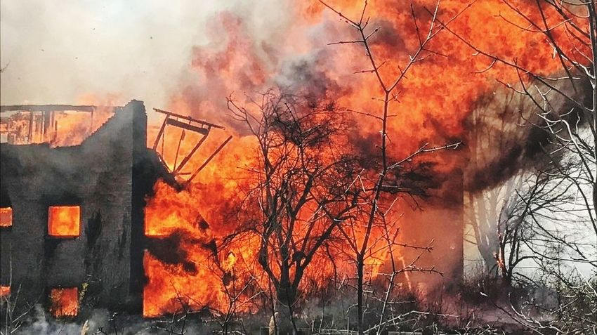 Massive apartment fire from yesterday. 5 departments in total responded. Smoke - Physical Structure Burning Heat - Temperature Destruction Firefighter Responsibility Pride Service Honor Commitment No Days Off The Calling Always Ready Fire - Natural Phenomenon Abandoned Buildings