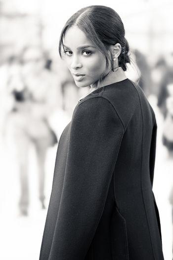 Ciara in fashion week Actress American Actres American Singer Beaty Ciara Ciara Princess Harris Costume Fashion Fashion Week Fashion&love&beauty Model Models Singer