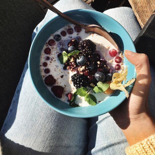 Porridge Healthy Eating Beautiful Breakfast